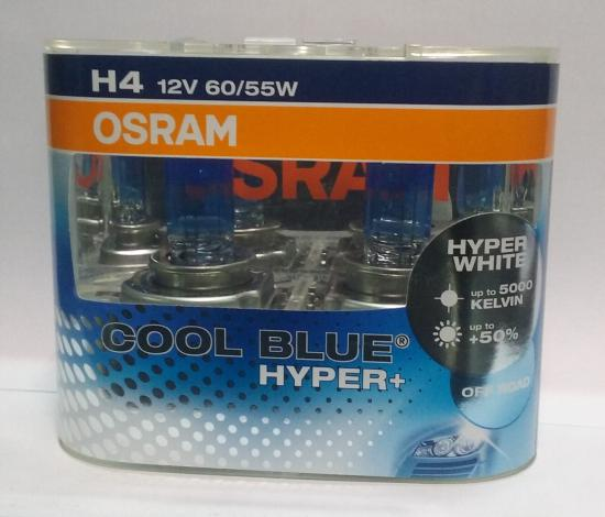 Lampara H4 Osram Cool Blue Hyper