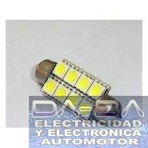 Lampara de 8 led Tubular